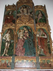 The Polyptych by Antonello De Saliba