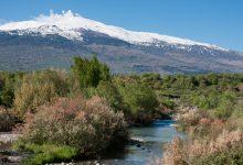Alcantara - Fiume Alcantara ed Etna