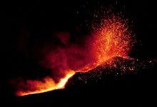 etna - eruzione notturna