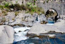 fiume alcantara - ponte san nicola castiglione