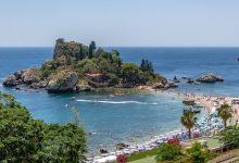 taormina mare - isola bella