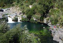 vullo passerella sul fiume alcantara